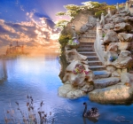 Isle of Avalon by karmievarya